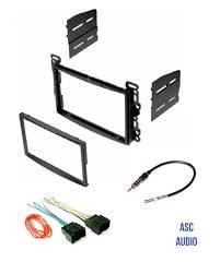 nissan altima 2005 double din asc audio double din car stereo dash kit wire harness and