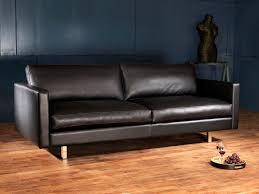 canapé cuir noir canape cuir scandinave votre canapé en cuir design scandinave haut