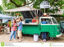 vintage volkswagen truck vw food truck editorial stock image image 59221009