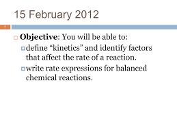 unit 8 kinetics