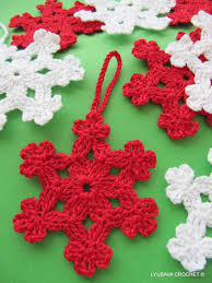 christmas crochet pattern crochet snowflake pattern diy crochet