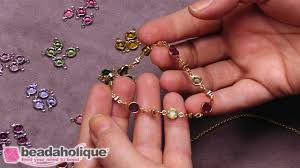 crystal bracelet charms images How to make delicate jewelry with swarovski crystal channel charms jpg