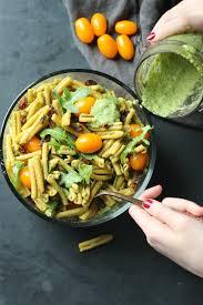 easy pesto pasta salad garden in the kitchen