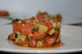 saumon cuisine fut bliss in the kitchen tartare de saumon smith et concombre
