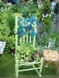 139 best garden chair planters images on pinterest chair