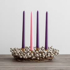 advent wreath candles advent wreath with berries candles set dayspring