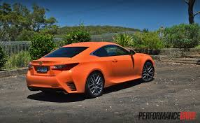 lexus rc sport review 2015 lexus rc 350 f sport review video performancedrive