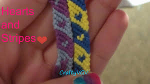 heart bracelet friendship images How to make the friendship bracelets hearts and stripes jpg