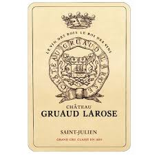 30 years of château gruaud chateau gruaud larose 2001 wine