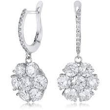 diamond drop earrings diamond drop earrings polyvore