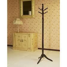 frenchi home furnishing oak 6 hook coat rack jw102a o the home depot
