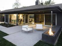 modern patio modern concrete patios the concrete network