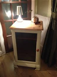 Old Pine Furniture Upcycled Pine Hifi Cabinet With Lifting Lid Painted In Annie
