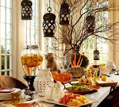 table decor ideas black metal hanging lantern