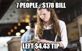 Waitressing Memes - if you work or worked as a waitress waiter than these 15 true but