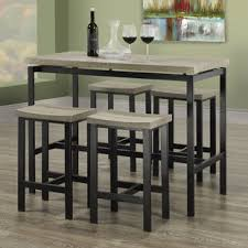 rectangle pub table sets rectangle pub tables bistro sets you ll love wayfair ca
