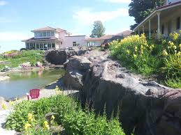 custom fake rock residential projects rockscapes artificial