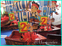 jake and the neverland party ideas diy jake and the neverland party center pieces