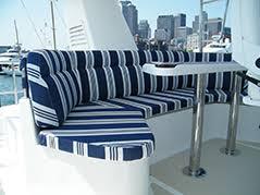 Interior Boat Cushion Fabric Cushions U0026 Pillows Cape Cod Marine Canvas Boat Cushions