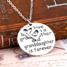 grandmother and granddaughter necklaces grandmother and granddaughter heart necklace great deal