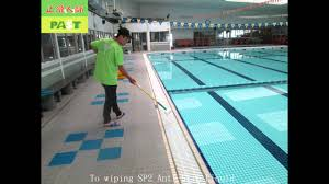 Non Slip Floor Coating For Tiles 427 Swimming Swimming Pool Tiles High Hardness Small Tiles