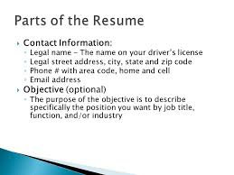 mr gragert english iv what goes into a resume resume