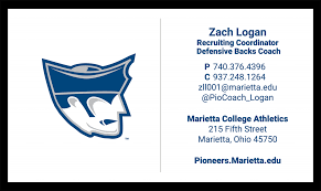 Basketball Coach Business Cards Brand Guide Athletics Visual Identity Guidelines Marietta College