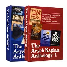 aryeh kaplan books aryeh kaplan anthology 2 volume set
