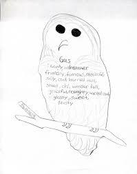 Halloween Shape Poems Cinquain Poem Template Contegri Com