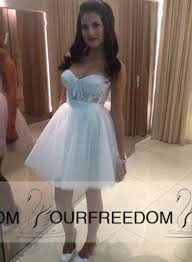 short wedding dresses sweetheart with lace a line tulle back