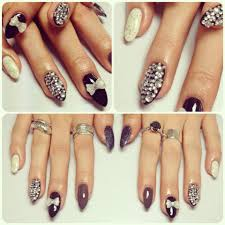 nail designs pointy nails gallery nail art designs
