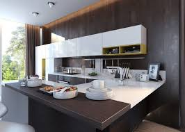 two tone grey kitchen cabinets white kitchen chairs black