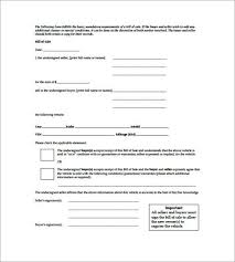 sample electronics bill of sale form templatezet