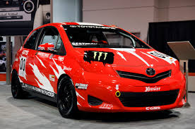 sema 2011 toyota yaris b spec club racer photo gallery autoblog