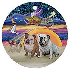 75 best bulldog ornaments images on