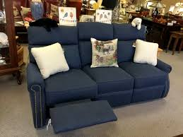 Blue Reclining Sofa by Sofas Loveseats Chairs And Recliners