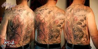 foo fu dog samurai fu dog tattoo by bps tattoo on deviantart