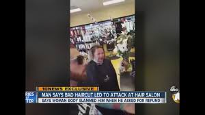 man says bad haircut led to attack at hair salon 10news com kgtv