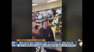man says bad haircut led to attack at hair salon 10news com kgtv