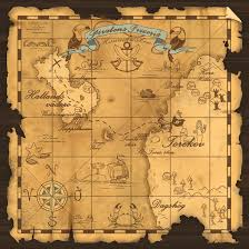 Pirates Of The Caribbean Map by