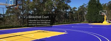 backyard basketball court basketball court surface backyard