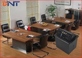 Office Desk Power Sockets Press Pop Up Desktop Power Sockets With Bottom Connection Panel