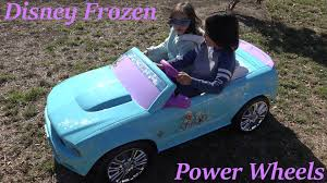 power wheels jeep frozen this disney frozen ford mustang ride on power wheels can go uphill