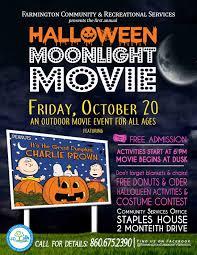 halloween moonlight movie calendar meeting list town of