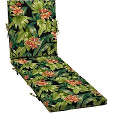 better homes and gardens outdoor chaise cushion black tropical