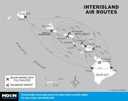 Map Of Hawaii Island Hawaii Itinerary The Two Week All Island Trip Moon Travel Guides