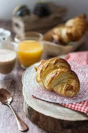 cuisine recettes recette de croissants maison idéal petit déjeuner ou brunch