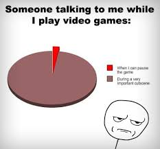 Video Gamer Meme - video games and talking pie chart video games gaming and dragon age