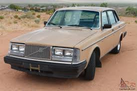 volvo 240 one owner clean 102k rust free manual trans