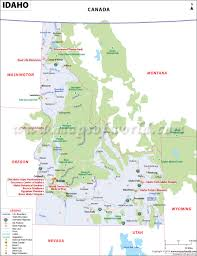 Utah State Parks Map by Idaho Map Map Of Idaho